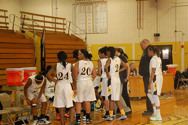 Girls Basketball Responds Well to New Coaching Staff