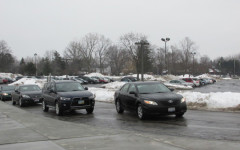 Students Report Traffic Problems in Parking Lot